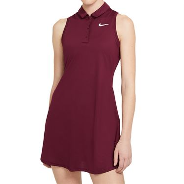 Nike Court Victory Dress Womens Dark Beetroot/White CV4837 638