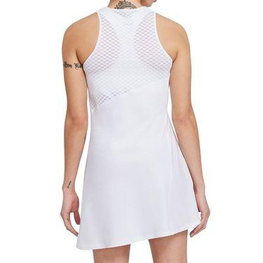 Nike Court Dri Fit Advantage Slam Dress Womens White/Black CV4865 100