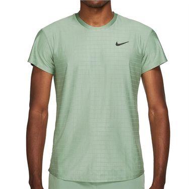 Nike Court Breathe Advantage Shirt Mens Jade Smoke/Black CV5032 357