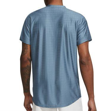 Nike Court Breathe Advantage Shirt Mens Rift Blue/White CV5032 415