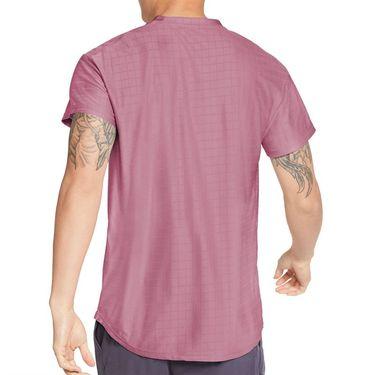 Nike Court Breathe Advantage Shirt Mens Elemental Pink/White CV5032 698