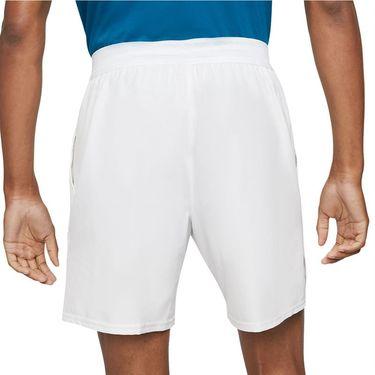 Nike Court Dri FIT Advantage Short Mens White/Black CV5046 100