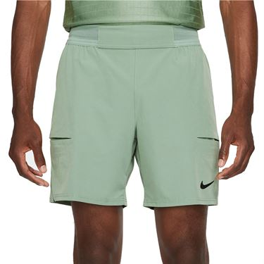 Nike Court Dri FIT Advantage Short Mens Jade Smoke/Black CV5046 357