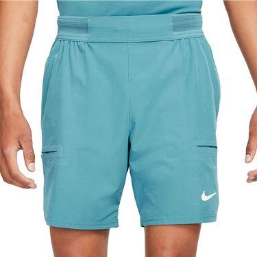 Nike Court Dri FIT Advantage Short Mens Rift Blue/White CV5046 415