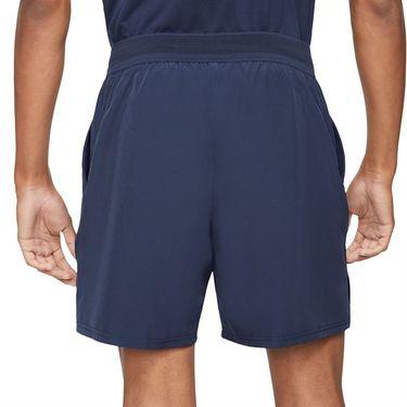Nike Court Dri FIT Advantage Short Mens Obsidian/White CV5046 451