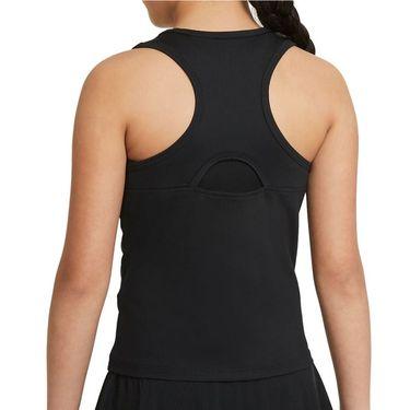 Nike Court Girls Dri Fit Victory Tank Black/White CV7573 010