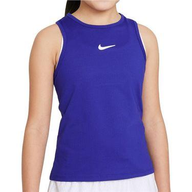 Nike Court Girls Dri Fit Victory Tank Concord/White CV7573 471