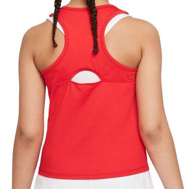 Nike Court Girls Dri Fit Victory Tank University Red/White CV7573 657