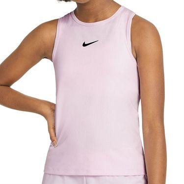 Nike Court Girls Dri Fit Victory Tank Regal Pink/Black CV7573 695
