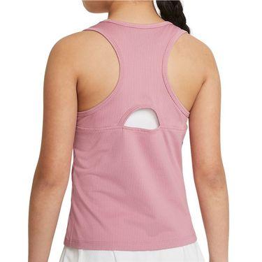 Nike Court Girls Dri Fit Victory Tank Elemental Pink/White CV7573 698