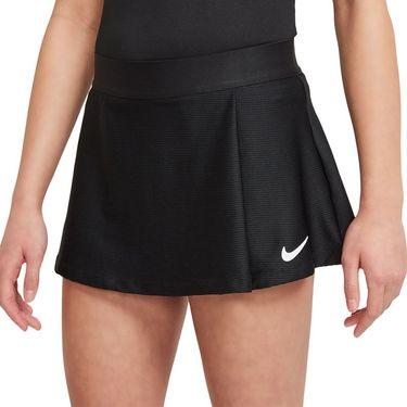 Nike Court Girls Victory Skirt Black/White CV7575 010