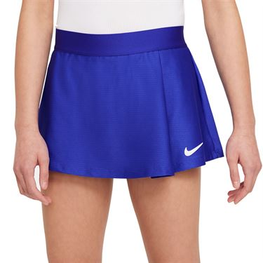 Nike Court Girls Victory Skirt Concord/White CV7575 471