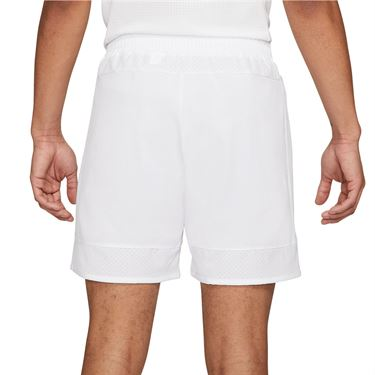 Nike Court Dri Fit Advantage Slam Short Mens White/Black CV7873 100