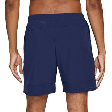Nike Court Dri Fit Advantage Rafa Shorts Mens Binary Blue/Chile Red CV7873 429