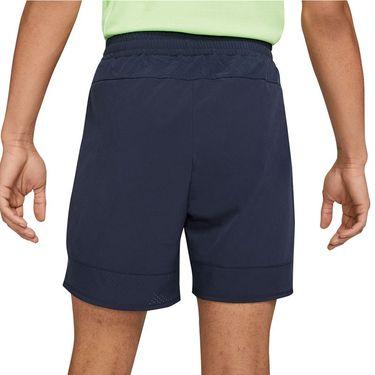 Nike Court Dri FIT ADV Rafa Short Mens Obsidian/Lime Glow CV7873 451