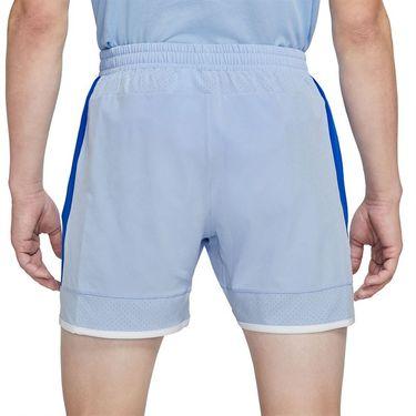 Nike Court Dri Fit Advantage Slam Short Mens Aluminum/Hyper Royal/White/Lime Glow CV7873 468