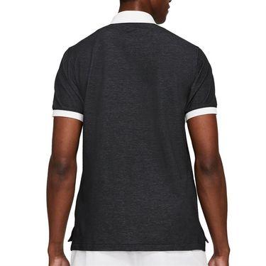 Nike The Nike Polo Slam Shirt Mens Black/White CV7876 010