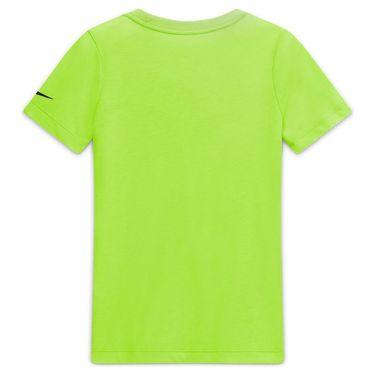 Nike Boys Court Dri Fit Rafa Tee Shirt Volt/Black CW1521 702