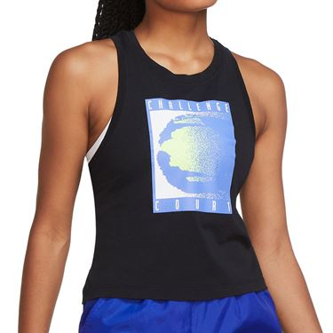 Nike Court Tank Womens Black CW1536 010