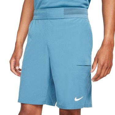 Nike Court Dri FIT Advantage Short Mens Rift Blue/White CW5944 415