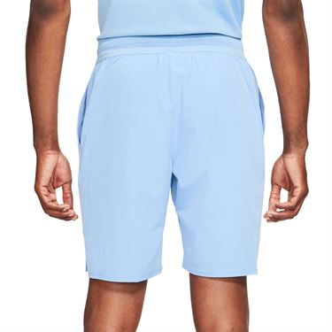 Nike Court Dri FIT Advantage Short Mens Aluminum/Black CW5944 468