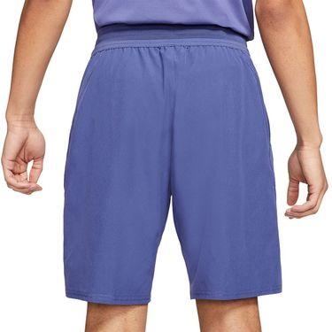 Nike Court Dri FIT Advantage Short Mens Dark Purple Dust/White CW5944 510