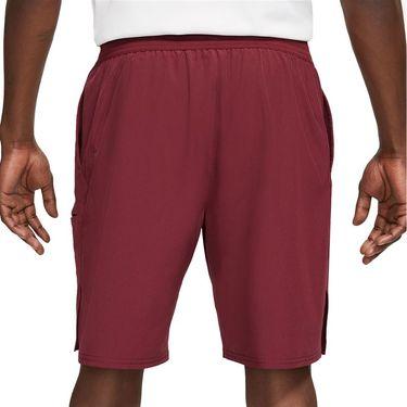 Nike Court Advantage 9 Inch Short - Dark Beetroot/White