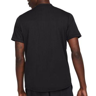 Nike Court Dri FIT Shirt Mens Black/White CW6288 010