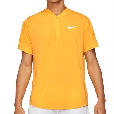 Nike Court Dri FIT Shirt Mens University Gold/White CW6288 739