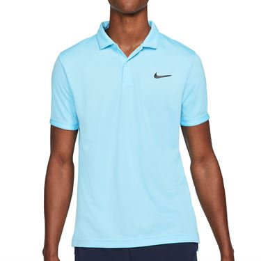Nike Court Dry Victory Polo - Copa/Black