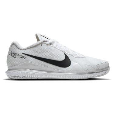 Nike Court Air Zoom Vapor Pro Mens Tennis Shoe - White/Black ...