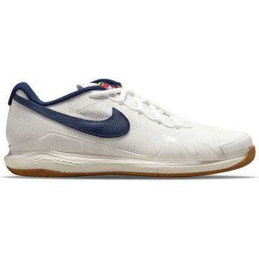 Nike Court Air Zoom Vapor Pro Womens Tennis Shoe Summit White/Binary Blue/White/Sail CZ0222 133