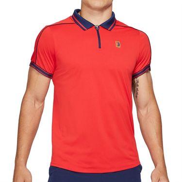 Nike Court Dri Fit Advantage Slam Polo Shirt Mens University Red/Binary Blue DA4325 657