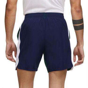 Nike Court Dri Fit Slam Shorts Mens Gorge Green/Binary Blue/White DA4354 341