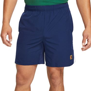 Nike Court Dri Fit Slam Shorts Mens Binary Blue/University Red/White DA4354 430