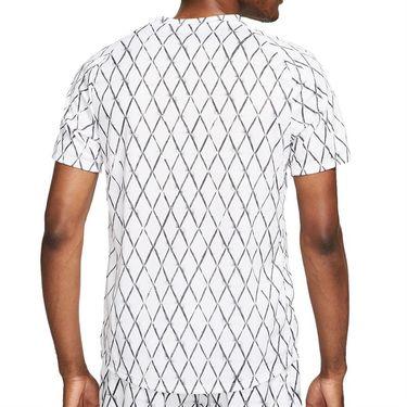 Nike Court Dri Fit Victory Shirt Mens White/Black DA4366 100