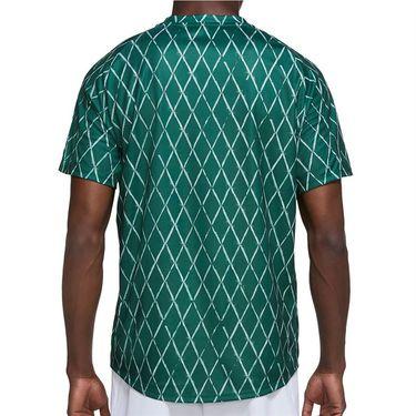 Nike Court Dri Fit Victory Shirt Mens Gorge Green/White DA4366 341