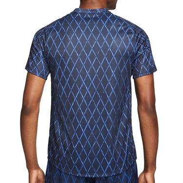 Nike Court Dri Fit Victory Shirt Mens Obsidian/White DA4366 451