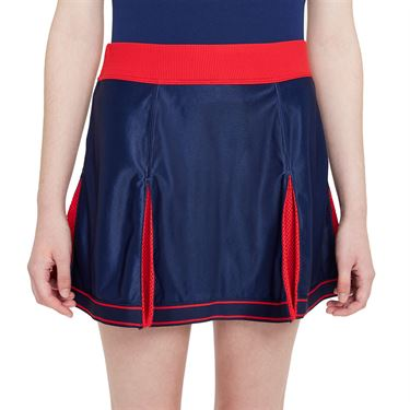 Nike Court Dri Fit Slam Skirt Womens Binary Blue/ University Red DA4714 429