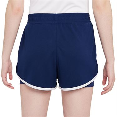 Nike Court Dri Fit Slam Short Womens Binary Blue/White DA4728 430