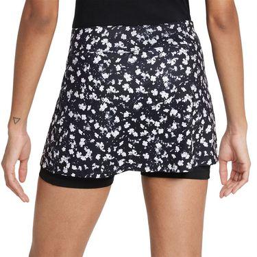 Nike Court Dri Fit Victory Skirt Womens Black/White DA4732 010