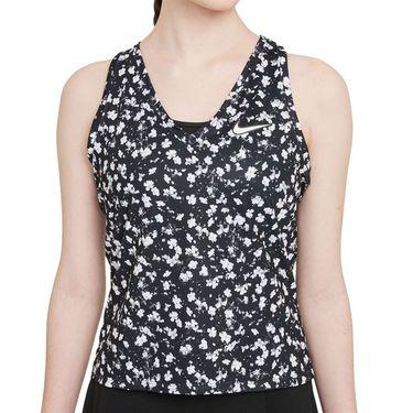 Nike Court Dri Fit Victory Tank Womens Black/White DA4734 010