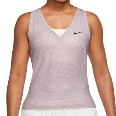 Nike Court Dri Fit Victory Tank Womens Regal Pink/Black DA4734 695