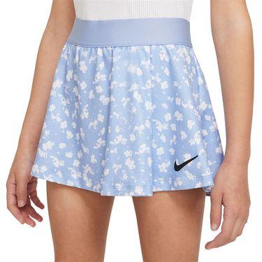 Nike Court Girls Dri Fit Victory Skirt Aluminum/Black DA4737 468