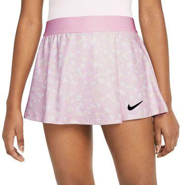 Nike Court Girls Dri Fit Victory Skirt Regal Pink/Black DA4737 695