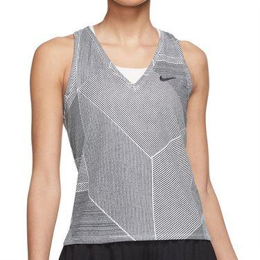 Nike Court Victory Tank Womens White/Black DA4754 100