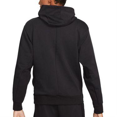 Nike Court Dri Fit Hoodie Mens Black DA5711 010