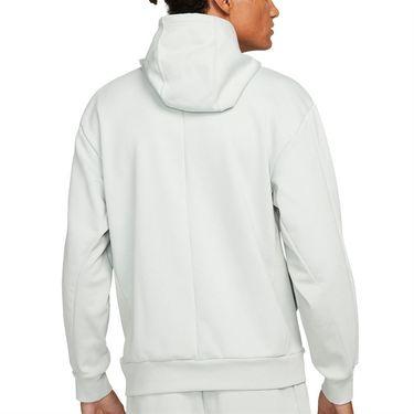 Nike Court Dri Fit Hoodie Mens Grey Haze DA5711 013