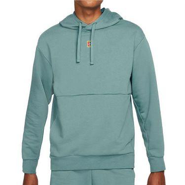 Nike Court Dri Fit Hoodie Mens Rift Blue DA5711 415