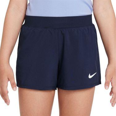 Nike Court Girls Dri Fit Victory Short Obsidian/White DB5612 451